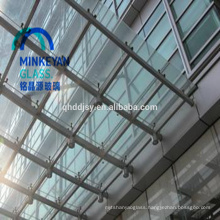 laminated tempered glass sunroom panels 6mm 8mm 10mm with SGCC ANSIZ97.1