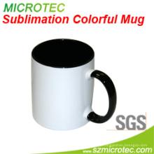 Keramischer Becher 11oz Sublimation der zweifarbigen Farben-Tasse