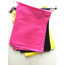 Assorted Rainbow Drawstring Non-Woven Bags