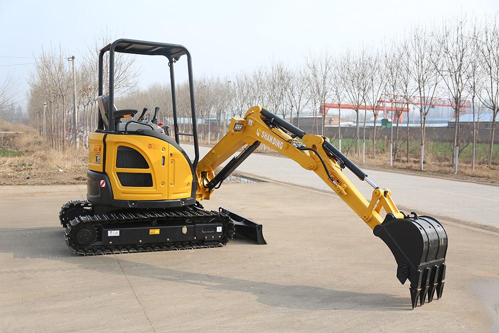 SD25U mini excavator
