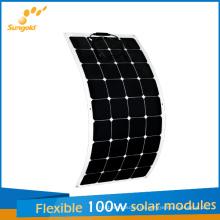 Neue entworfene flexible Sonnenkollektoren 100W für China-Hersteller