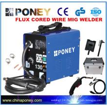 CE GS одобренный AC сварочный ток флюса порошковой бесщеточный сварочный аппарат MIG