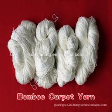 hilo de bambú para la alfombra