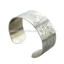 Tiger cat engrave pattern bracelets bangles classics fashion traditional china bracelet bangle jewellery manufacturer