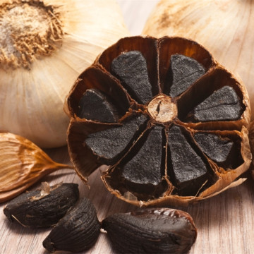 Healthy Food Black Garlic Black Máquina Garllic