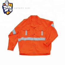 Hi Vis Safety Reflective Winter Jacket Long Sleeve Safety Shirts
