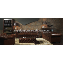 Sofá de estilo americano chesterfield A631