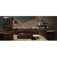 Ensemble de canapé style chesterfield américain A631
