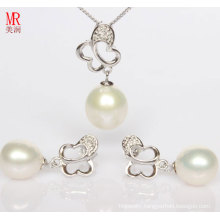 Freshwater Pearl Sets, Pendant, Earrings