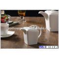 Keramik-Tee und Kaffee-Set mit Teekanne-Set, Zuckertopf und Milchglas