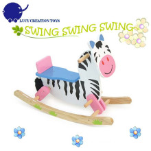 Kids Zebra Rocking Horse