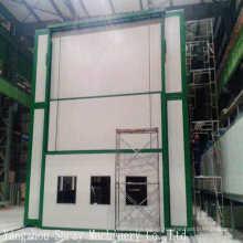 Sala de pintura de carro móvel, cabine de pulverizador de alta qualidade