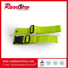 Correia de cintura de PVC reflexiva running