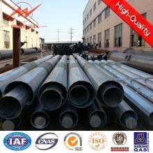 Polo de cônico aço galvanizado para poder utilitário de linha