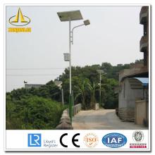 Steel Solar Powered Outdoor Lamp Post
