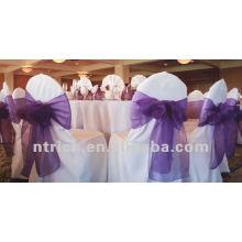 Housses de chaises belle pour mariage, couverture de chaise de banquet usagés