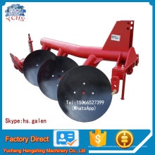 Tractor montado unidireccional Pipe Disc Plow Implement para la venta