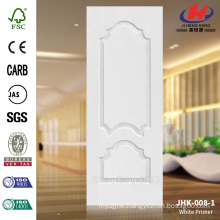 JHK-008-1 Factory Produce Huge Smooth Surface White Primer Door Skin Used in Apartment