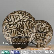 Vajilla de cerámica de estilo español (conjunto)