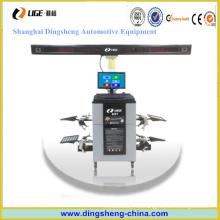 Poste de elevación de seguimiento automático de alineación de rueda 3D con certificado de ce Ds7