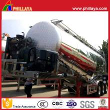 Leichtes Fahrzeug-Aluminiumlegierungs-Behälter-Zement Bulker-Tanker-halb Anhänger