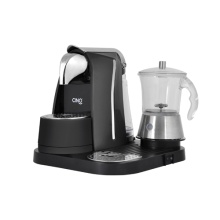 Espresso Point Machine with Glass Milk Frother