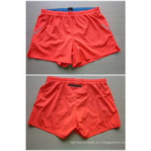 Yj-3016 Womens Girls Ladies Rojo Elástico Estiramiento Quick Dry Shorts