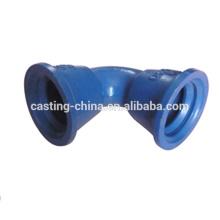 Pièces chimiques de corps de valve de pièce moulée de précision de moulage de précision d'industrie de contrôle de flux