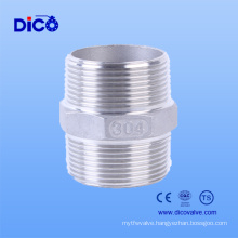 Stainless Steel 2 Inch Hexagonal Nipple for Pipe and Fitting