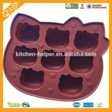 Moldes Bolo Tipo Ferramentas e Eco-Friendly Feature molde bolo de silicone
