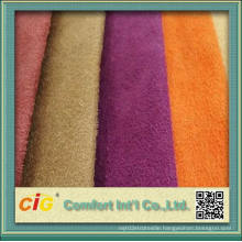 Most Popular Polyester Sofa Suede Fabric