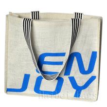 Neue umweltfreundliche, kohlenstoffarme und umweltfreundliche Jute-Einkaufstasche (hbjh-7)