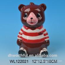 Customized Bear Ceramic Saving Bank