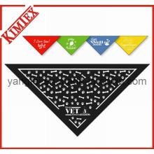 100% algodão impresso triângulo pet cão bandana