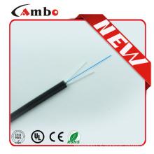 LSZH Jacket 2 Core FTTH SM Неметаллический элемент прочности Центральный соединительный кабель FTTH
