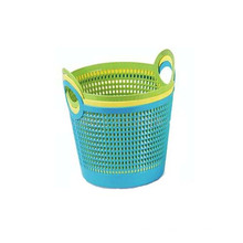 Herstellung von Wäschekorb aus Kunststoff