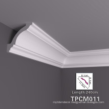 High Stability PU Decorative Cornice Moulding With Great Varieties