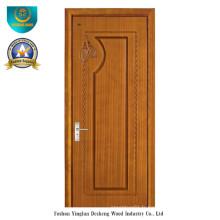 Porte en bois solide de style moderne pour la pièce (DS-102)