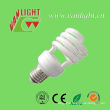 T4 24W Half Spiral CFL Lamp Energy Saving