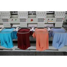4 головки с 9/12 игл Cmputerized машина вышивки крышки/рубашки