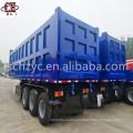 3 axle Hydraulic Cylinder Dump Truck Semi-Trailer