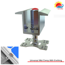 New Design Anodised Aluminium Universal MID Clamp for Solar Mounting (300-0002)