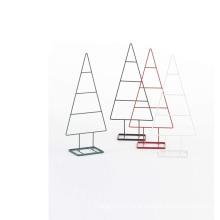 KINDOME AMAZON Hot Sale New Design Creative Metal Frame Christmas Trees Ornaments Eco Friendly
