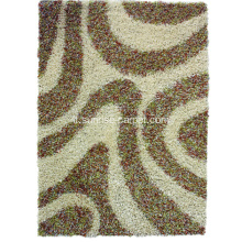Moquette Shaggy in Viscosa Poliestere con Design