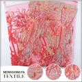 Обслуживание OEM удобные вышитые металлический кружевном платье ткань