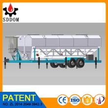 Flugasche Silo, Zement Silo Design, horizontale Zement Silo