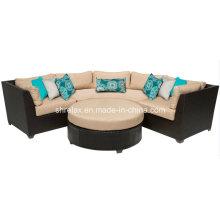 Outdoor Rattan Furniture Patio Garden Wicker Lounge Sofa Set