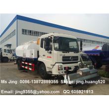 Melhor qualidade de 4x2 Dongfeng Tianjin 8,500 litros estrada água lavadora de pressão caminhão