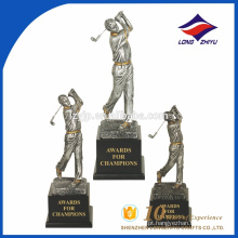 Trophy factory 2017 troféu de venda quente troféu de prêmio de golfe