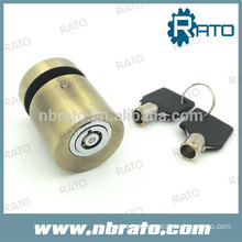 RP-189 brass coated cylinder disc brake lock